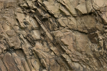 A volcanic rock texture photo