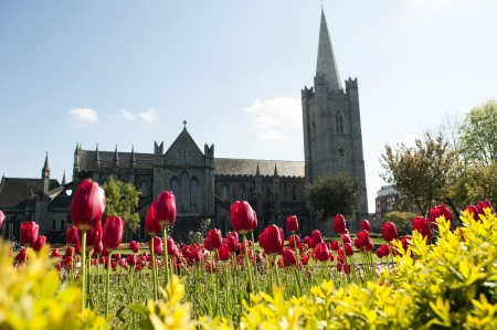 Saint Patrick s Cathedral in Dublin, also known as The National Cathedral and Collegiate Church of Saint Patrick, Dublin, was founded in 1191