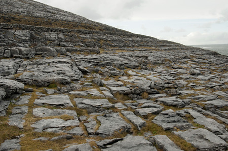 The Burren  Irish  Boireann, meaning  great rock   is a karst-landscape region or alvar in northwest County Clare, in Ireland  It is one of the largest karst landscapes in Europe  photo
