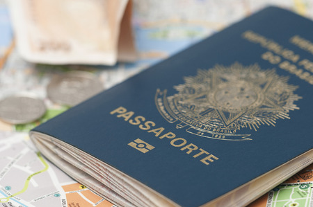 stamp passport: A passport is a government-issued document that certifies the identity and nationality of its holder for the purpose of international travel