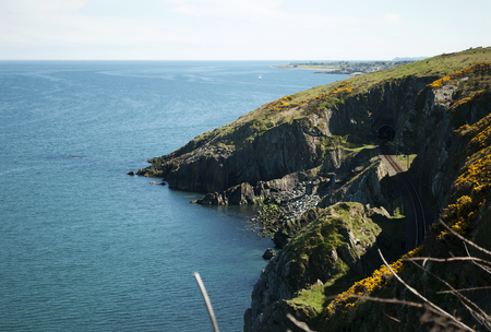 Cliffwalk between Bray and Greystones, Ireland