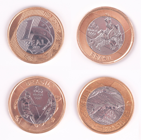 olympiad: Olympiad Coin  Brazilian Olympic Coin  Judo, Football (Soccer) and Swimming