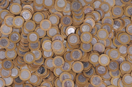 emerging economy: Brazilian Currency (Real)  Coin  Background