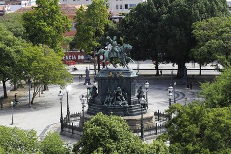 Tiradentes Square is a public park located in the center of the city of Rio de Janeiro, Brazil.