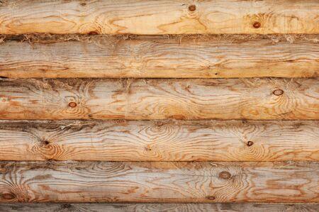 light pine wood logs background