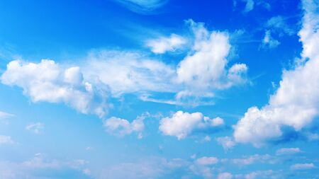 blue sky and beautiful clouds  Stock Photo - 18153854