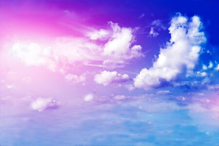 Land, blue sky and beautiful clouds Stock Photo - 18388574