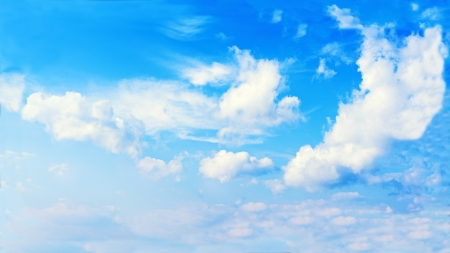 Beautiful view of blue sky and clouds Stock Photo - 19011399