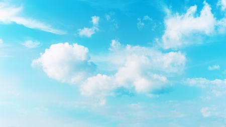 Real  blue sky and beautiful clouds  Real scene without any light effects Stock Photo - 19090674