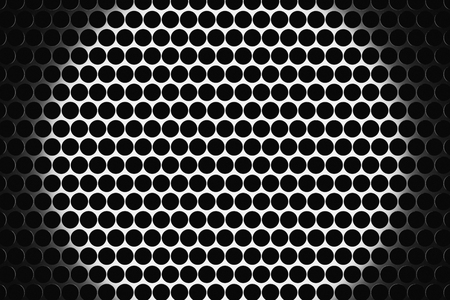 metal grate: Metal speaker grill texture for using as background. Highly detailed render. Stock Photo