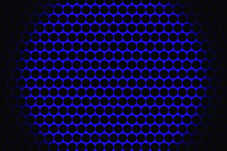 woofer: Metal speaker grill texture for using as background. Highly detailed render. Stock Photo