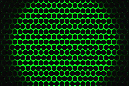 speaker grille pattern: Metal speaker grill texture for using as background. Highly detailed render. Stock Photo