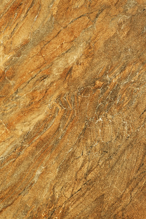 brown granite: Polished granite texture. Beige, brown stone as background. Stock Photo