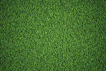 grassy field: Natural grass texture background in bright yellow green color tone. Top view. 3D illustration.