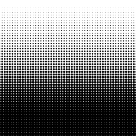 Halftone dots pattern. Design element for posters, banners, cards and wallpapers.  Black dots on white background. Vector illustration. EPS10. Stok Fotoğraf