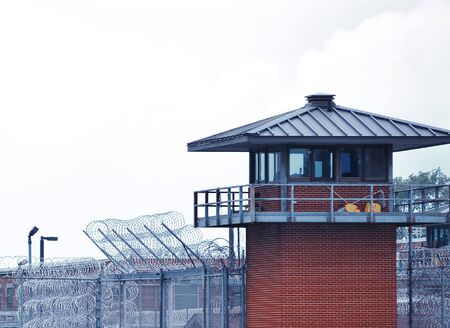 watchtower: Prison guardhouse