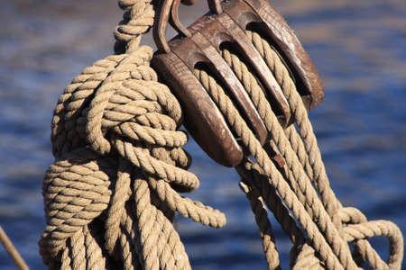 polea: Polea y cuerda