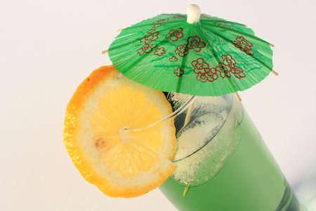longdrink: Green longdrink