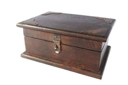 wooden lid: Wooden chest