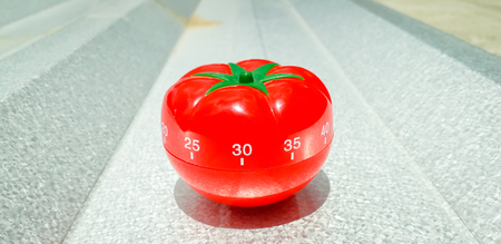 Pomodoro and a brushed metal with bold highlight and shadow. 스톡 콘텐츠