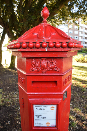Old post box Editorial