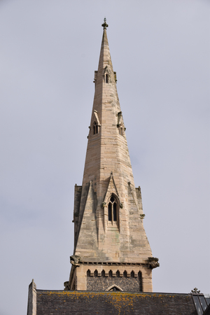 The Spire of Cornerstone Community Centre, a converted Church in Church Lane