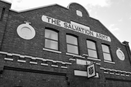 Banbury, England - November 29 2017: Victorian Salvation army building