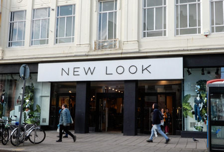 Brighton, United Kingdom - March 27 2018:   The Frontage of New look clothing store on George Street