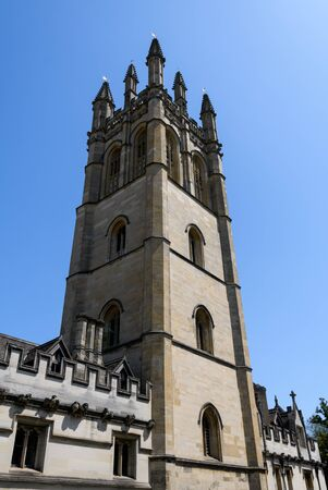 The Tower of Oxford Universitys Magdalen College building in High Street