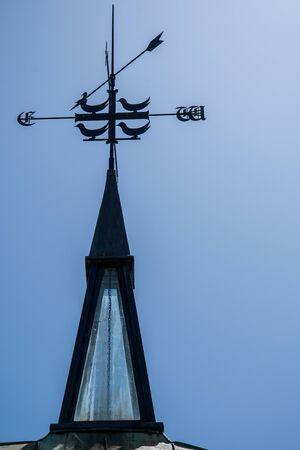 The spire of Merton College Chapel in Logic lane