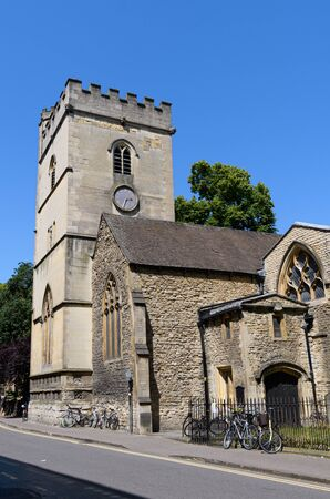 The ancient church of St Magdalen in High Street