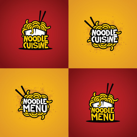 noodles: noodle vector Illustration