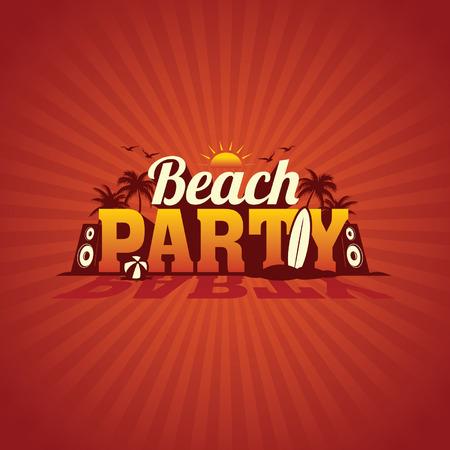 beach party: Beach party