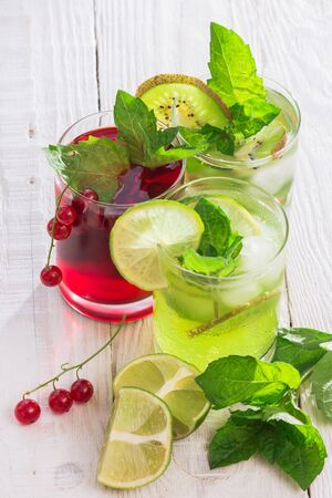 sourness: Refreshing drinks and various fresh fruits and berries