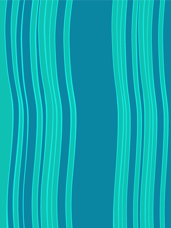 sixties: Blue green horizontal abstract wave retro background. Vector retro background with the style of the sixties. Retro modern