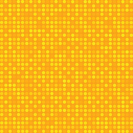 Yellow warm digital seamless pattern background, pop art retro comic book illustration Ilustracja