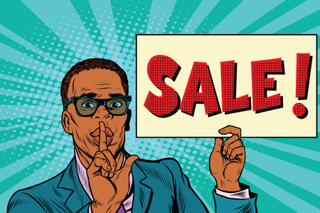 African businessman, the secret sale