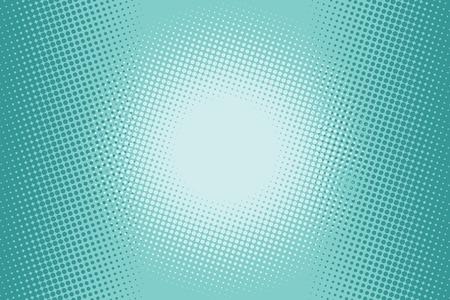 Groene halftone grappige achtergrond. pop art illustratie vector tekening Stock Illustratie