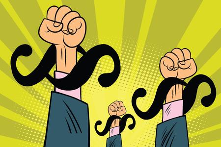 弁護士、段落抗議しています。漫画コミック イラスト ポップ アート レトロ ベクトル