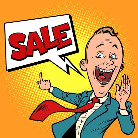 salesman businessman sale