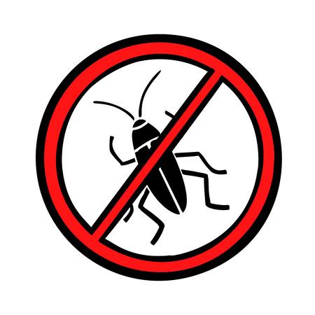 害虫防除ゴキブリアイコンシンボル