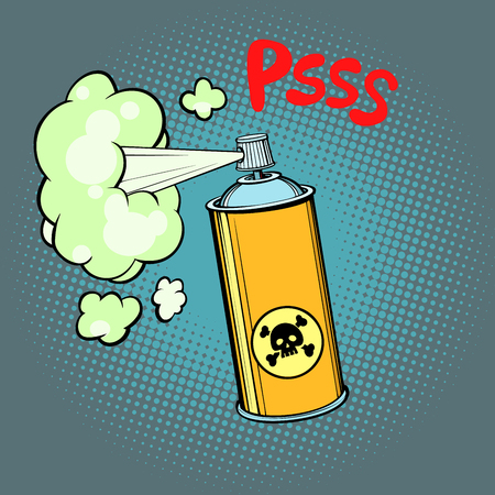 toxic gas chemical waste Banque d'images - 98633197