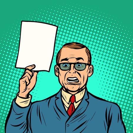 information help unhappy businessman. Business Finance