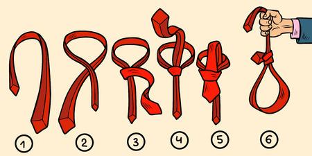 tie knots, noose