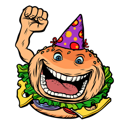 birthday fast food Burger