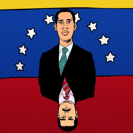 The crisis in Venezuela. Juan Guaido and Nicolas Maduro