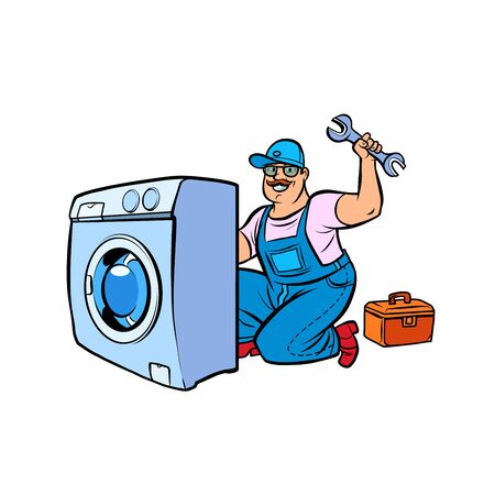 master repair washing machine
