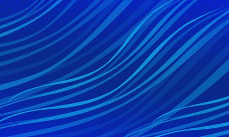 Blue wave Christmas abstract background. Christmas and New year