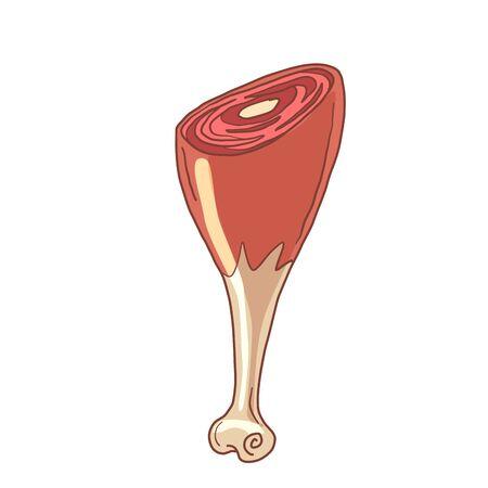 pork knuckle leg