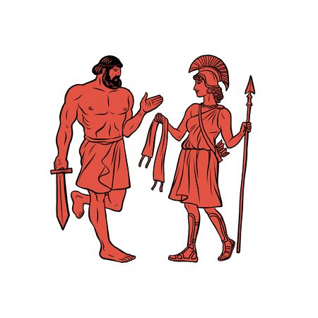 Obtain the girdle of Hippolyta, Queen of the Amazons. 12 Labours of Hercules Heracles